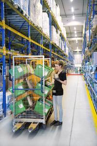 Pressekommissionierung Kleinmengen (Salomon Automation GmbH)