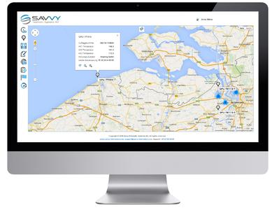 Savvy´s customers obtain a high-performance solution for different areas of application ranging from classic tracking & tracing to worldwide container cycle monitoring, automated unit control and use as a precise analysis and reporting system for all types of logistics processes.