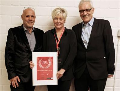 Von links: Harald A. Summa, CEO eco-Verband, Gisela Strnad, Heise Medien, Prof. Michael Rotert, Vorstand eco-Verband