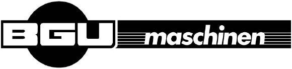 BGUmaschinen Logo