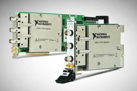 National Instruments erweitert Produktgruppe der Hochgeschwindigkeits-Digitizer