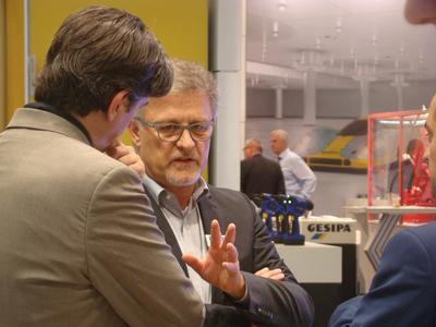 BIBUS Geschäftsführer Michael Neubauer MOTEK 2015