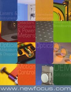 """""""Simply Better Photonics"""" - der neue Katalog von New Focus"""