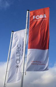 In 2019, the North-German manufacturer of marking lasers ALLTEC GmbH with its brand FOBA Laser Marking + Engraving is celebrating its 50th company anniversary / picture rights: FOBA