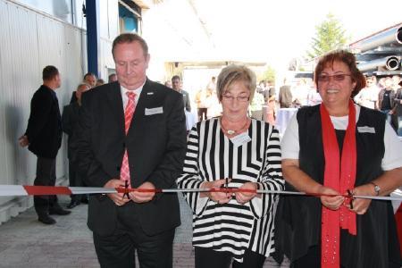 Eröffnung der neuen Fertigungshalle 2011