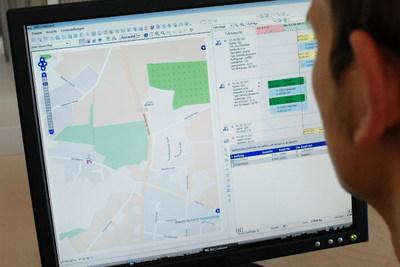 Komalog Leitstand: Neue Straßenkarte auf OpenStreetMap-Basis