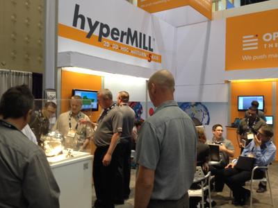 OPEN MIND successful at IMTS, Image source: OPEN MIND