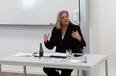 Sabine Weiss, Parlamentarische Staatssekretärin beim Bundesminister für Gesundheit / Fotos: Martin Rospek