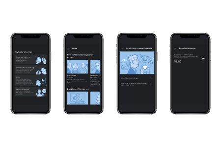 Die Funktion My Guide in der Widex Moment-App