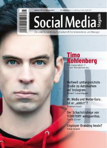 Cover_Social Media Magazin Nr. 25