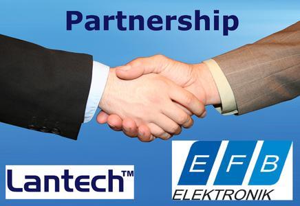 hand shake EFB Lantech