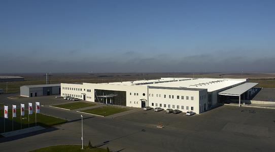 TAKATA Produktionswerk in Arad, (Rumänien)