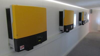Wechselrichter erzeugt in Nürnberg Solarstrom