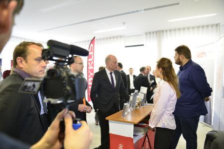 Minister Tiefensee auf Leistungsschau 2016
