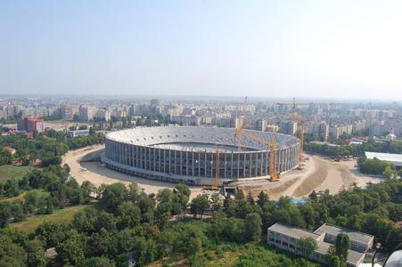"""Max Bögl ist mit der schlüsselfertigen Erstellung des 60 000 Zuschauer fassenden Zentralstadions """"Lia Manoliu"""" in Bukarest beauftragt"""