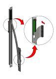 Der Klemm-Steck-Anschluss hat sich bewährt und findet auch in den neuen Kabelübergängen Anwendung, Foto: ASSA ABLOY Sicherheitstechnik GmbH