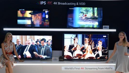 LG IFA 2014 4K Broadcasting