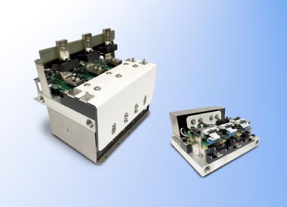 FTCAP präsentiert auf der PCIM 2017 auch eines von zwei Hochleistungs-PowerStacks, die gemeinsam mit den Partnern Mersen und AgileSwitch entwickelt wurden