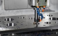 Anwendung von secuRgrip: trochoidales Fräsen mit PG25 und einem 16er Fräser, der mit 40 mm Schneidenlänge im Einsatz ist (Bild: Rego-Fix)
