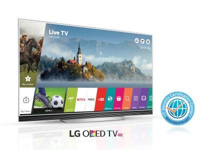 LG CC Zertifizierung mit OLED TV (E7)