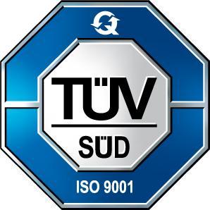 Prüfzeichen GERA-IDENT ISO 9001