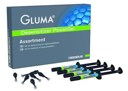 GLUMA® Desensitizer PowerGel-Sortiment