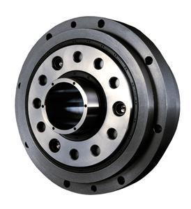 Präzisionsgetriebe F2C-FC mit Hohlwelle zur Durchführung von Kabeln oder Medien, Bild: Sumitomo (SHI) Cyclo Drive Germany GmbH