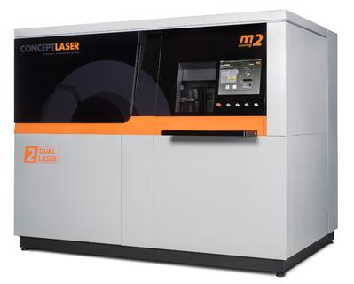 BU 0: M2 cusing Multilaser Metall-Laserschmelzanlage