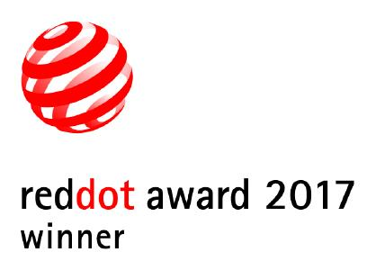 Red Dot  Award Winner 2017 Logo