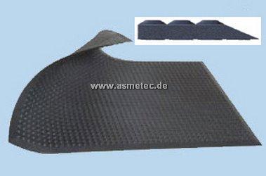 Bodenmatte mit abgeschrägter Kante