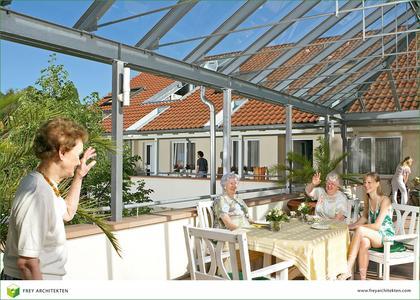 Soziale Architektur mit Modellcharakter: Seniorenwohnanlage Schwanenhof in Eichstetten.