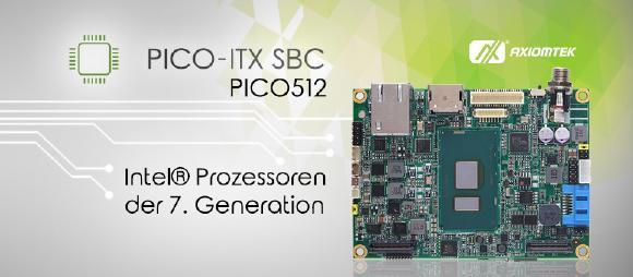 Das neue PICO-ITX Motherboard