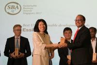 Essilor wins Sustainable Business Award for its commitment to the United Nation's Sustainable Development Goals