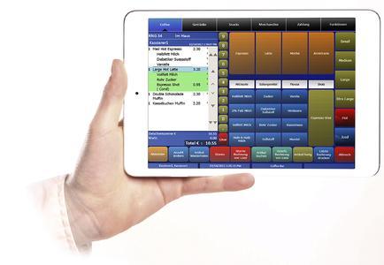 MF iPadmini Front Hand2000 Ordering Coffee 07012013 PhB SGS db, Copyright by MICROS-FIDELIO GmbH
