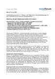 [PDF] Pressemitteilung: NanoFocus AG gibt Halbjahreskennzahlen 2010 bekannt