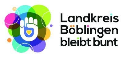 """Die Initiative """"Landkreis Böblingen bleibt bunt"""" tritt ein für Vielfalt in der deutschen Gesellschaft und wird im Rahmen der Antirassismus-Wochen vom 15. bis 28. März 2021 in Böblingen vorgestellt."""