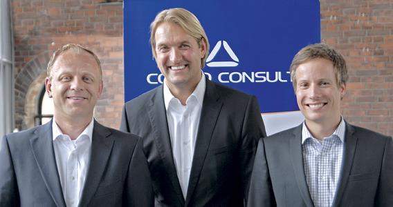 Geschäftsführer der Cosmo Consult: Klaus Aschauer   Uwe Bergmann   Gerrit Schiller
