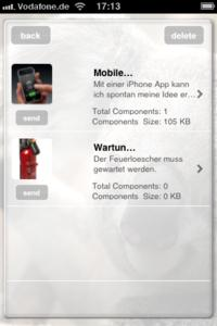 Add Idea on iPhone