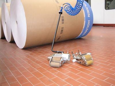 """""""Easy Roller"""" bewegt mühelos bis zu 100 Tonnen"""