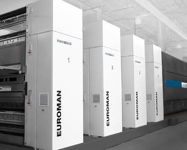 Für Heatseterzeugnisse wie Werbebeilagen, Broschüren und Mailings ist die 32-Seiten-Illustrationsrollenoffsetanlage EUROMAN das ideale Produktionsmittel. | © manroland web systems