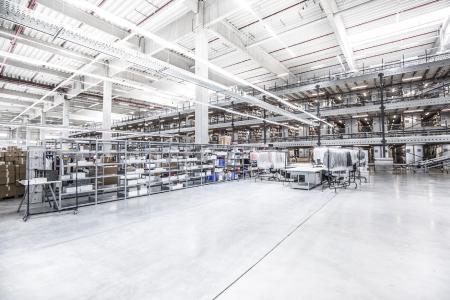 Blick ins warehouse