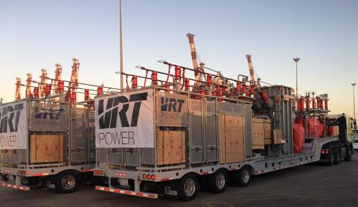 Mobile Substations produced at VRT Power facility