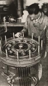 Das Cyclo-Getriebe - 1944 und heute, in der achten Generation.