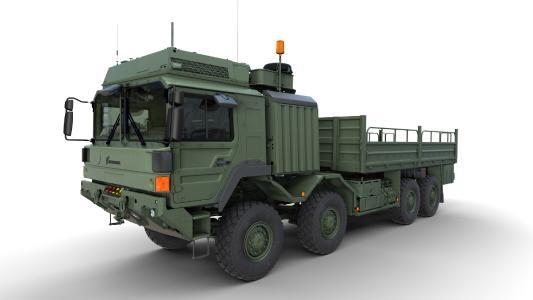 Rheinmetall HX heavy trucks