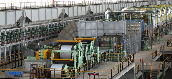 ANDRITZ METALS will supply a turnkey cold strip annealing and pickling line / Photo: ANDRITZ