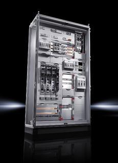 Wie montageeffiziente Lösungen aussehen, stellt Rittal mit seinen neuen Installationsverteilern aus dem Systembaukasten Ri4Power unter Beweis / Foto: Rittal GmbH & Co. KG