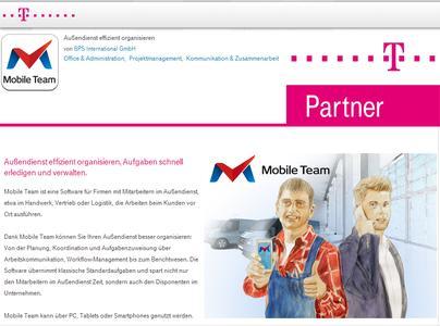 Die Mobile Business Solution MOBILE TEAM auf dem Telekom Bus...