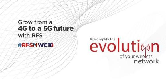 RFS to showcase advanced antenna solutions to simplify the evolution to 5G at MWC 2018