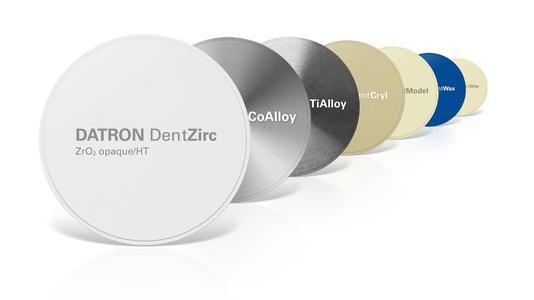 DATRON DentDiscs - Fräsblanks für alle Indikationen