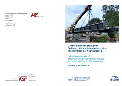 Holistic assessment of steel and composite railway bridges according to criteria of sustainability